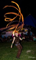 Fire Hooping 2014